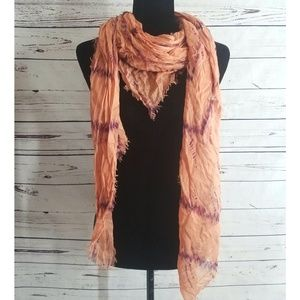 Urban Outfitters Kimchi Blue Peach Scarf